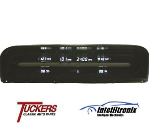 19 67 72 Ford Truck Digital Dash Panel Replacement White Intellitronix Dp1009w