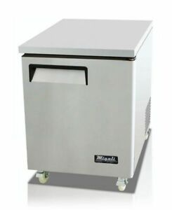 27 Under Counter Refrigerator Cooler Migali C u27r hc New 9631 Commercial Nsf