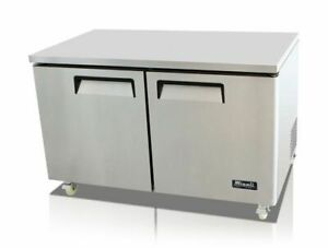 60 Under Counter Refrigerator Cooler Migali C u60r hc New 9633 Commercial Nsf
