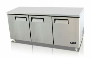 72 Under Counter Refrigerator Cooler Migali C u72r hc New 9634 Commercial Nsf