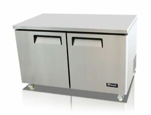 60 2 Door Under Counter Freezer Migali C u60f hc New 9637 Commercial Nsf