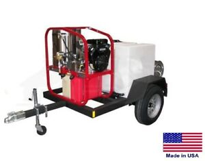 Pressure Washer Commercial Hot Cold Steam 3 5 Gpm 4000 Psi Honda