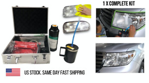 Uv Coating Headlight Repair Tool Kit Vapor Professional Car Headlamp Restoration