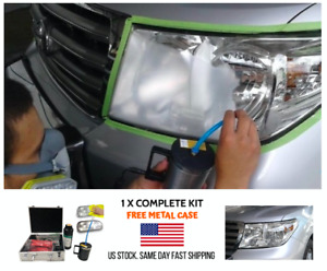 Headlight Repair Machine Tool Kit Uv Professional Car Headlamp Restoration Vapor
