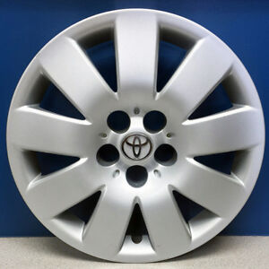 One 2003 2004 Toyota Corolla Le 61123 15 Hubcap Wheel Cover Oem 42621ab060