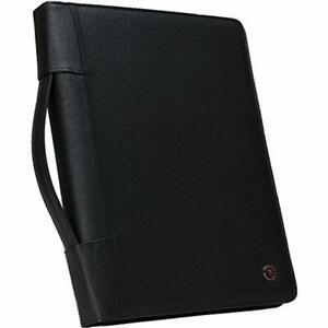 Padfolio Ring Binders Case it Executive Zippered With Removable 3 ring And Size