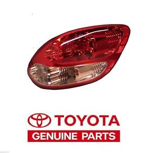2003 2006 Genuine Toyota Tundra Stepside Right Rear Tail Light Taillight Lamp Oe