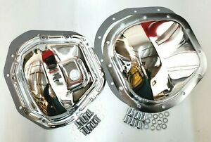 Chrome Steel Ford F 250 F 350 Super Duty Differential Cover Kit 1999 18 4wd
