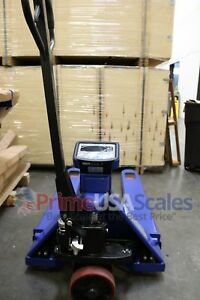 5 Year Warranty Pallet Jack Scale With Built in Scale 5 000 X 1 Lb Capacity