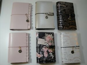 Lot Of 6 Prima Marketing Travelers Journal standard And Personal Size Notebook