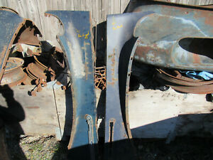 1941 42 Packard Six Hood Sides