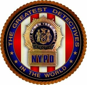 Nypd Detective New York Police Department Decal Sticker 3m Usa Vehicle Window
