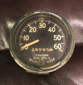 Used Willys Jeep M38 M38a1 M170 M151 Correct M series Military Speedometer