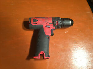 Snap On 3 8 Red 14 4v Lithium Ion Cordless Drill Cdr761 Bare Tool No Battery