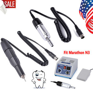 Usa Dental Electric Micromotor Polishing Lab Handpiece Fit Marathon 35000rpm