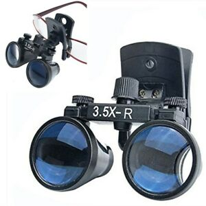 3 5x Dental Binocular Loupes Clip on Loupes Medical Surgical Magnifier Us Stock