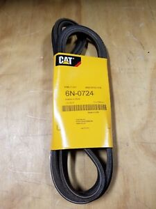 Genuine Caterpillar Cat 3208 Industrial Fan Two V belt Set 6n 0724 New