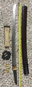 Japanese Tanto Maker Marked Sword 22 5
