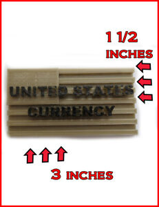 Accepts U s Currency Sign For Vending Machines And Dollar Bill Changers