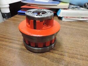 Ridgid 12 r Pipe Threader 5 Die Head Ratchet Ratcheting 1 2