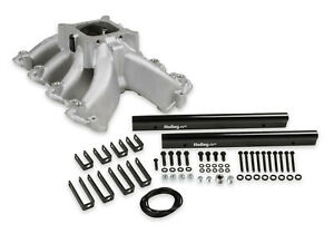 Holley 300 255 Single Plane Efi Split design Intake Manifold Ls1 Ls2 Ls6