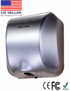 Jetwell High Speed Commercial Stainless Steel Auto Hand Dryer