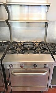 Southbend Commercial Stove P32a xx Platinum Heavy Duty 4 Burners Convection O