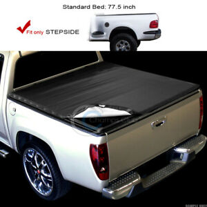 Snap On Tonneau Cover 97 03 Ford F150 99 F250 Ld Truck Flareside 6 5 Ft 78 Bed