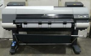 canon Ipf8300s Large Format Printer Usage 41579 7 Sq ft