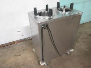 shelleymatic Cab2 4 h Hd Commercial S s Dual Heated 7 Plate Holder dispenser