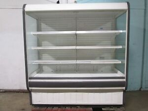 tyler N5dsc6 H d Commercial Open Lighted Refrigerated Vertical Display Case