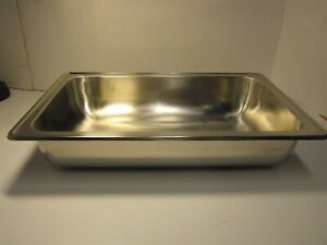 American Metalcraft Cdwp26 Stainless Steel 18 8 Full Size Chafer Water Pan