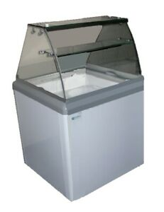 4 Facing Dipper Ice Cream Dipping Cabinet 6 4 Cu Ft Excellence Hbd 4hc New 9671