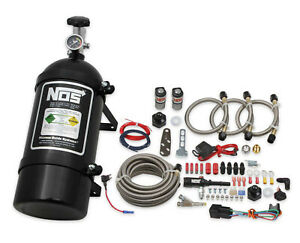 Nos 06019bnos Single Fogger Wet Nitrous System For 1986 98 Ford Mustang V8