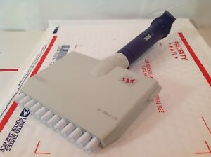 Rainin Pipet lite L 300 Lts 12 Multichannel Adjustable 20 300 Pipette 535