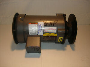 used Baldor 1 2hp Motor W Impeller 34 2606 2718 230 460v 3450rpm used