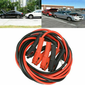 1 Gauge 1200amp Booster Cables 20ft Power Start Jumper Heavy Duty Car Van New Us