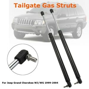 2 Rear Gas Lift Support Tailgate Hatch Strut For Jeep Grand Cherokee Wj Wg 99 04