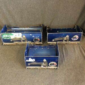 Blue Line 8 10 12 Drywall Flat Finishing Box Lot Of 3 used