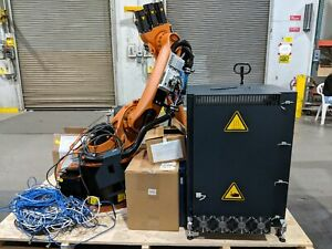 Kuka Kr 16 L6 2 Robotic Arm W Krc2 Kcp2 Kcped Kr16 Excellent Complete