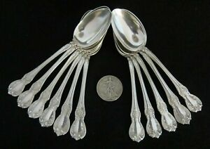Towle Sterling Silver Teaspoon Old Master No Monogram 6 1 Or More