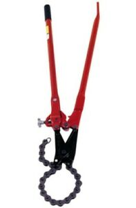 Reed Tool Sc59 8 Single Stroke Soil Pipe Cutter With 8 Inch Chain