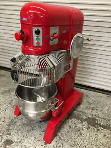 60 Qt Commercial Mixer New Bowl Hook Pizza Dough Bakery Hobart H 600t 9686