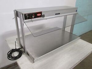 hatco Glo ray Hd Commercial Heated Lighted Hot Food Buffet Warmer merchandiser