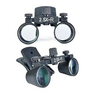 Dental Medical 2 5x Binocular Loupes Clip on Magnifier Magnifying Loupes Dy 109