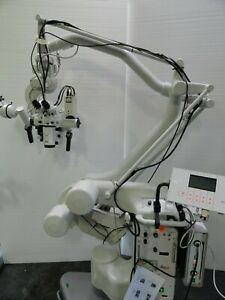 Leica M520 Oh1 Surgical Microscope Surgery Xenon Spine Neuro Binoculars Zeiss