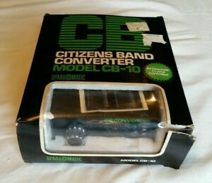 Vintage Sparkomatic Cb Citizens Band Converter 23 Or 40 Channels Cb 10