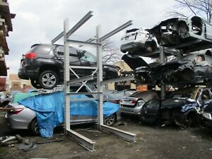 Heavy Duty Double Sided Cantilever Storage 6 Cars Vehicle Rack Racking Post