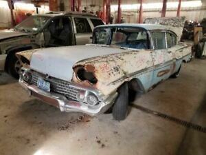 1958 Biscayne Manual Transmission 3 Speed W Over Drive 8 283 507263