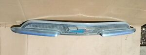 1959 Chevrolet Pickup Above Grill Emblem Molding 59 Truck Grille Ornament